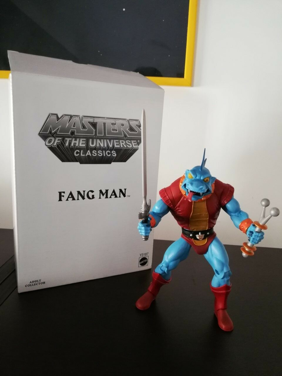 MOTUC FANG MAN LOOSE motuc Masters of the Universe MINT CONDITION + BOX