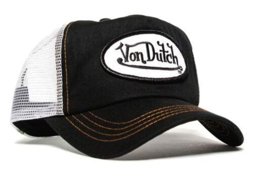 Da van Dutch Mesh Trucker Cap [Classic Black/White] Cappello Cappuccio Berretto base baseca