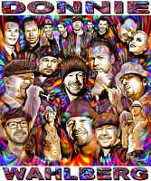 donnie Wahlberg Tribute T-shirt Or Print By Ed Seeman