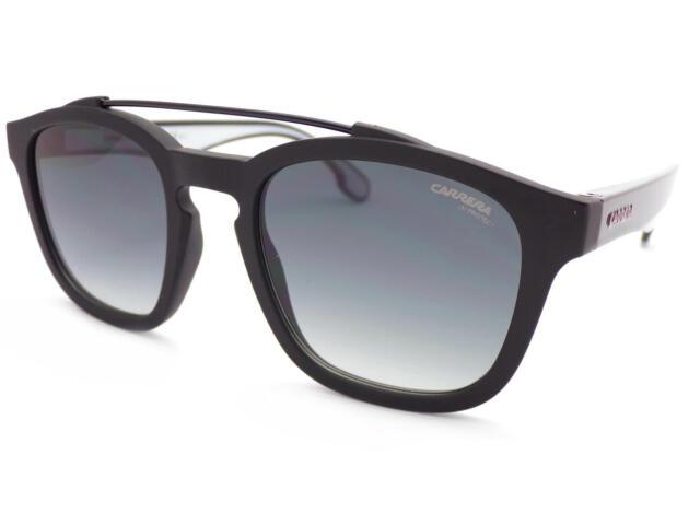 b9f90bf9dd CARRERA 1011 S Sunglasses Matte Shiny Black  Dark Grey Gradient Lenses 003  9O