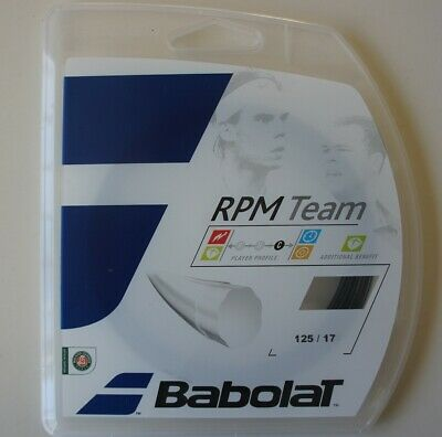 Babolat RPM Team 17 1.25mm Tennis Strings Set
