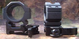 Leapers-UTG-QD-Picatinny-Weaver-Mount-Rings-Medium-1-034-25mm-Scopes-RQ2W1154