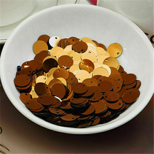 20mm PVC Flat Round loose Sequins Paillettes sewing Wedding Craft Accessories