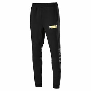 PUMA-Men-039-s-Camo-Sweatpants-Men-Knitted-Pants-Basics