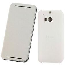 Custodia cover Flip Case BIANCA originale HTC per One M8 sottile libretto V941