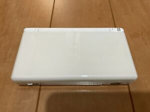 Nintendo DS Lite console Crystal White Color Console with Game