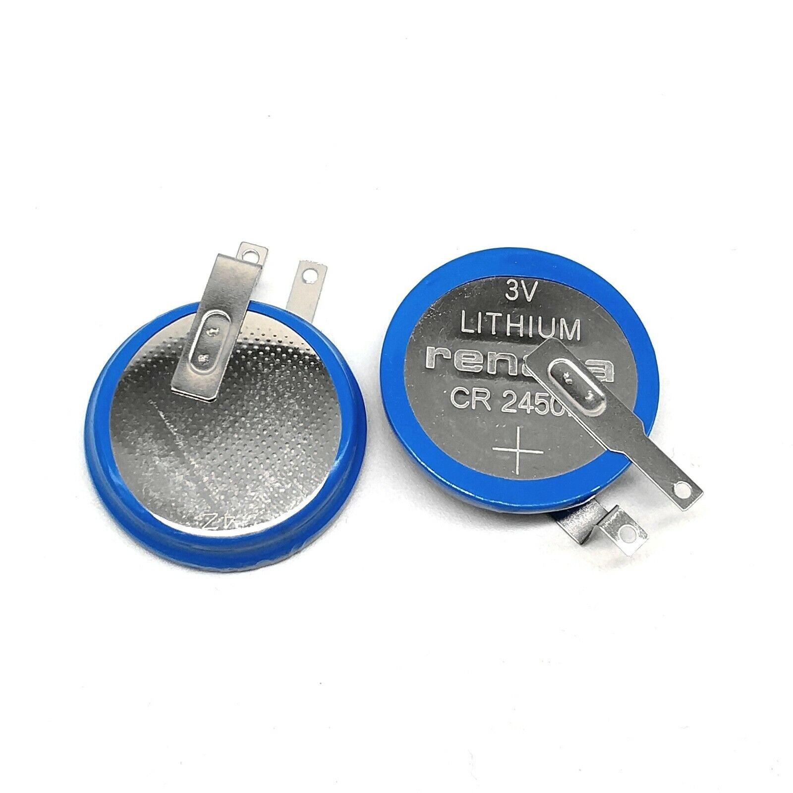 CR2450N RENATA High Temperature 3V Car Tire Pressure Monitoring Battery 2PCS
