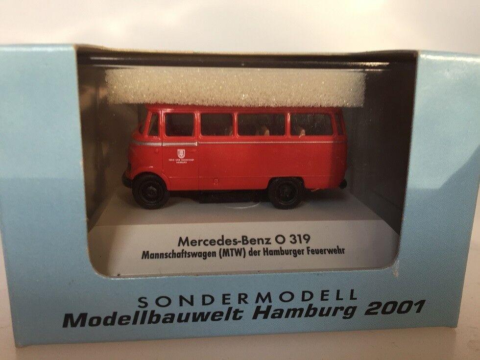 1 87 Brekina Mercedes O 319 modelllllerlerlbauwelt Hamburg 2001