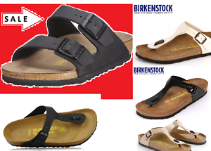 BIRKENSTOCK-ARIZONA-Black-or-Arizona-Soft-Footbed-ALL-SIZES-or-Gizeh-Black-35-46
