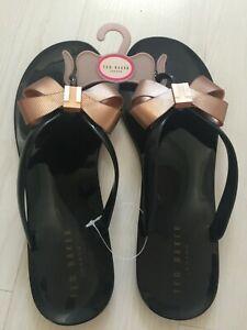 UK 8 EU 41 Jelly Flip Flop Sandals