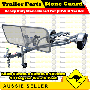 Heavy Duty Dacromat Coated Trailer Stone Guard suits JET-SKI TRAILER