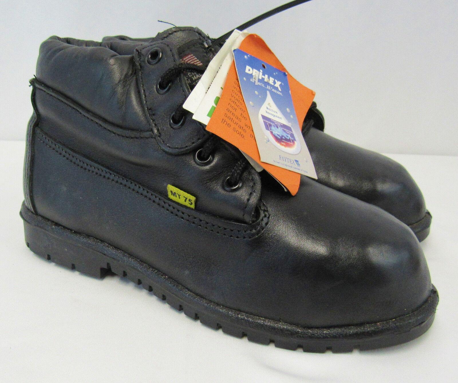 NEW Weinbrenner Aeromet Work Work Work Safety Toe Boots w  Metatarsal Guard Black - Size 6 80abb4