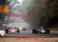 Mario Andretti JPS Lotus 79 Italian Grand Prix 1978 Photograph