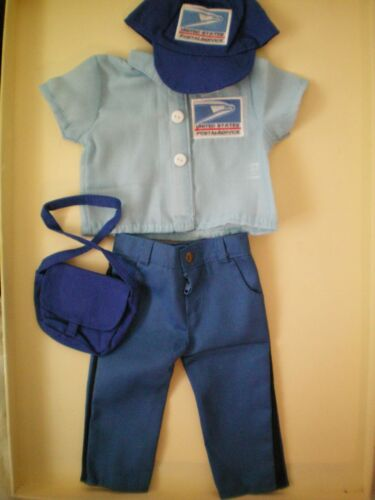 "NEW 18"" Doll USPS POST OFFICE uniform AMERICAN GIRL Julie MELODY Logan Mailman"