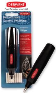Derwent Replacement Erasers Fr Battery Operated Eraser Pk of 30 Derwent Electric