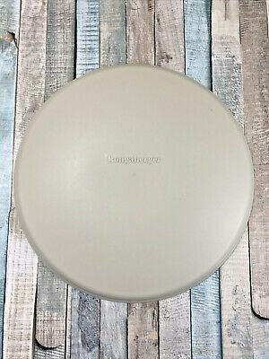 Retired Longaberger Basket Chip And Dip Round Bowl Replacement Lid Only 40803 Ebay