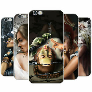 Attractive-Beautiful-Women-Smoking-Snap-on-Hard-Case-Phone-Cover-for-Sony-Phones