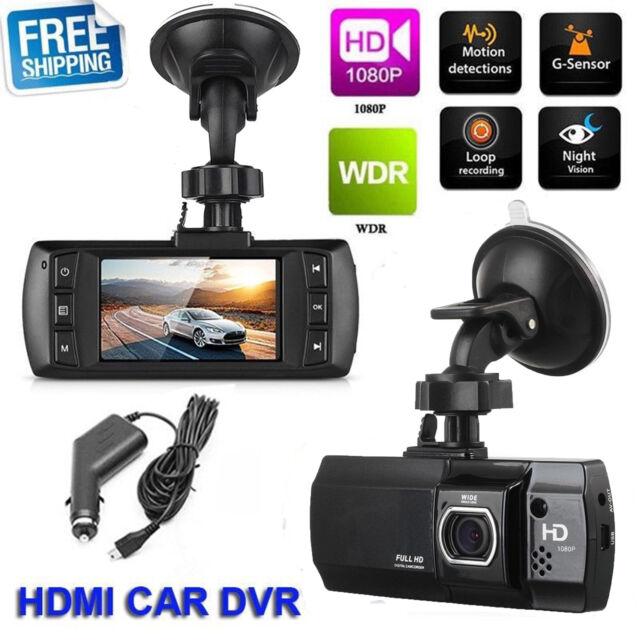 Car Dash DVR Crash Camera Video IR Recorder Night Vision G-Sensor 2.7' FHD 1080P