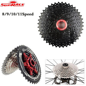 Sunrace-8-9-10-11Speed-Road-MTB-Bike-Cassette-fit-Shimano-SRAM-Cycling-Freewheel