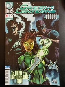 GREEN-LANTERNS-1a-Annual-2018-DC-Universe-Comics-VF-NM-Book