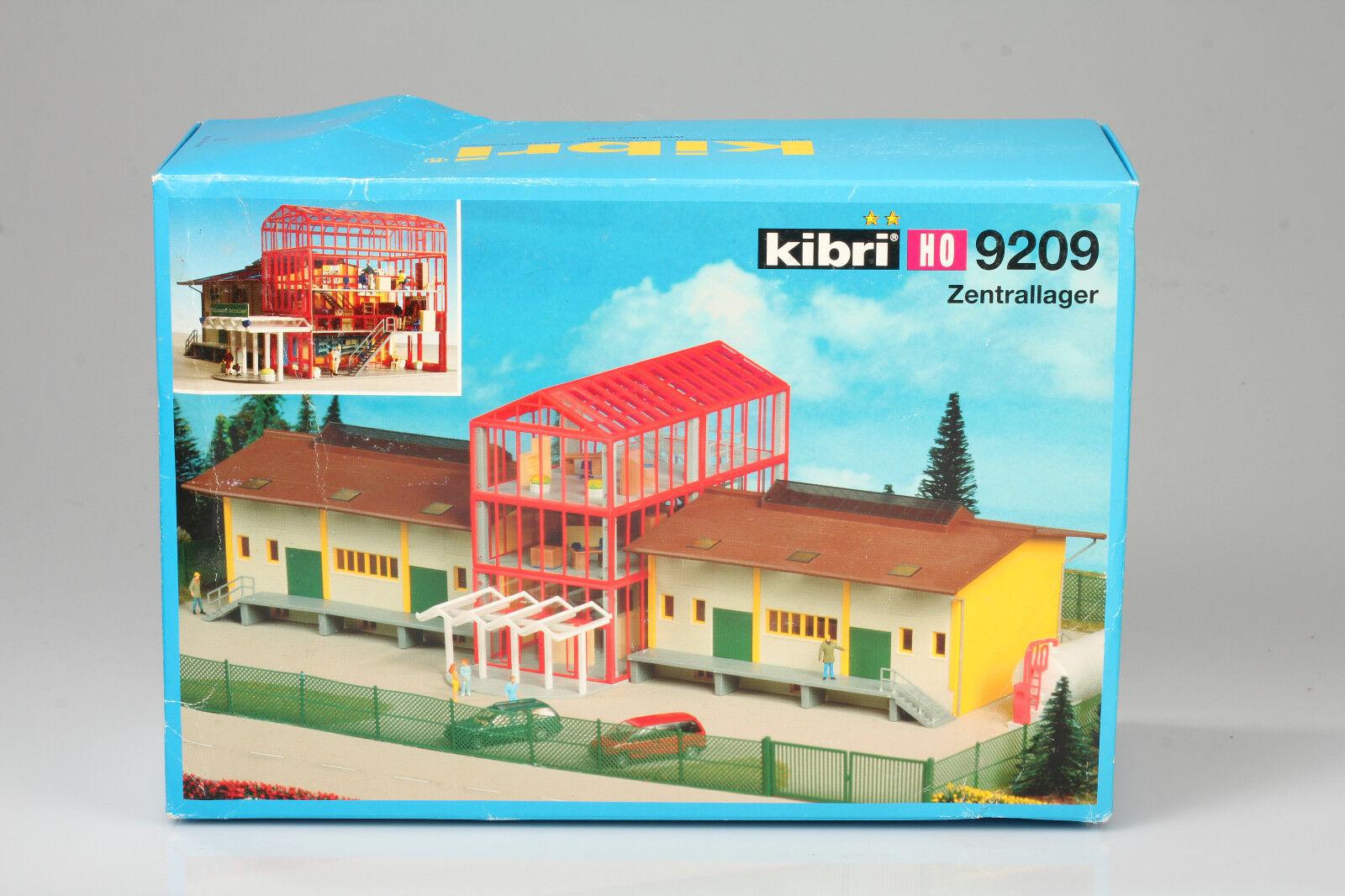 Kibri h0 grand zentrallager 40, 5x20cm kit de cheminot cachette secr  te