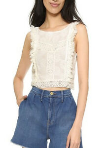 e80637f83d42a Image is loading Minkpink-wild-Traveller-Lace-Crop-Top-Off-white-