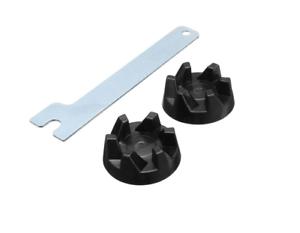 2 Gummi Mixer Kupplung Spindel Werkzeug Ersatzteil Für KitchenAid Standmixer NEU