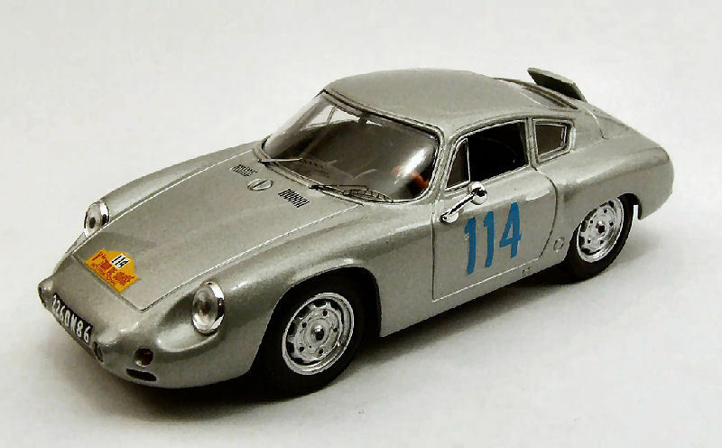 Porsche Abarth retirada Tour de Corse 1960 Bouchet Mairesse 1 43 Model