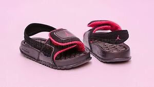 349a986d57b Image is loading Infant-Toddler-Jordan-Hydro-2-Sandal-Black-Pink-