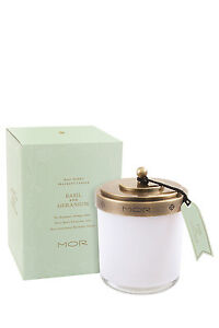 NEW-MOR-Fragrant-Candle-380g-Basil-amp-Geranium