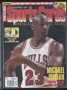 SPORTS-CARDS-MICHAEL-JORDAN-On-Cover-12-1997-ONE-MORE-TITLE
