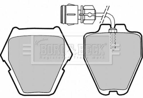 Borg BBP1780 Freno Pad Set Freno De Disco Delantero