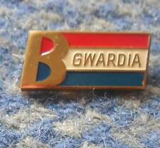 GWARDIA BIALYSTOK POLAND FOOTBALL FUSSBALL SOCCER BOXING JUDO 1980's PIN BADGE
