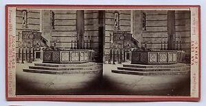 Pisa Italia Stereo Van Lint Vintage Albumina Ca 1865