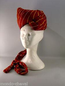 INDE-CHAPEAU-en-forme-de-turban-coton