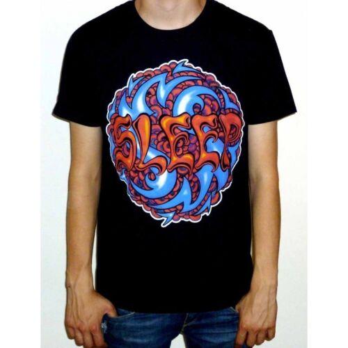 "Sommeil /""Logo/"" T-Shirt-Neuf Officiel montagne Sainte Jérusalem Dopesmoker"