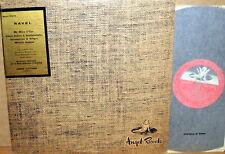 ANGEL UK RED Ravel CLUYTENS Valses Nobles/Menuet Antique PASCAL QUARTET 35173