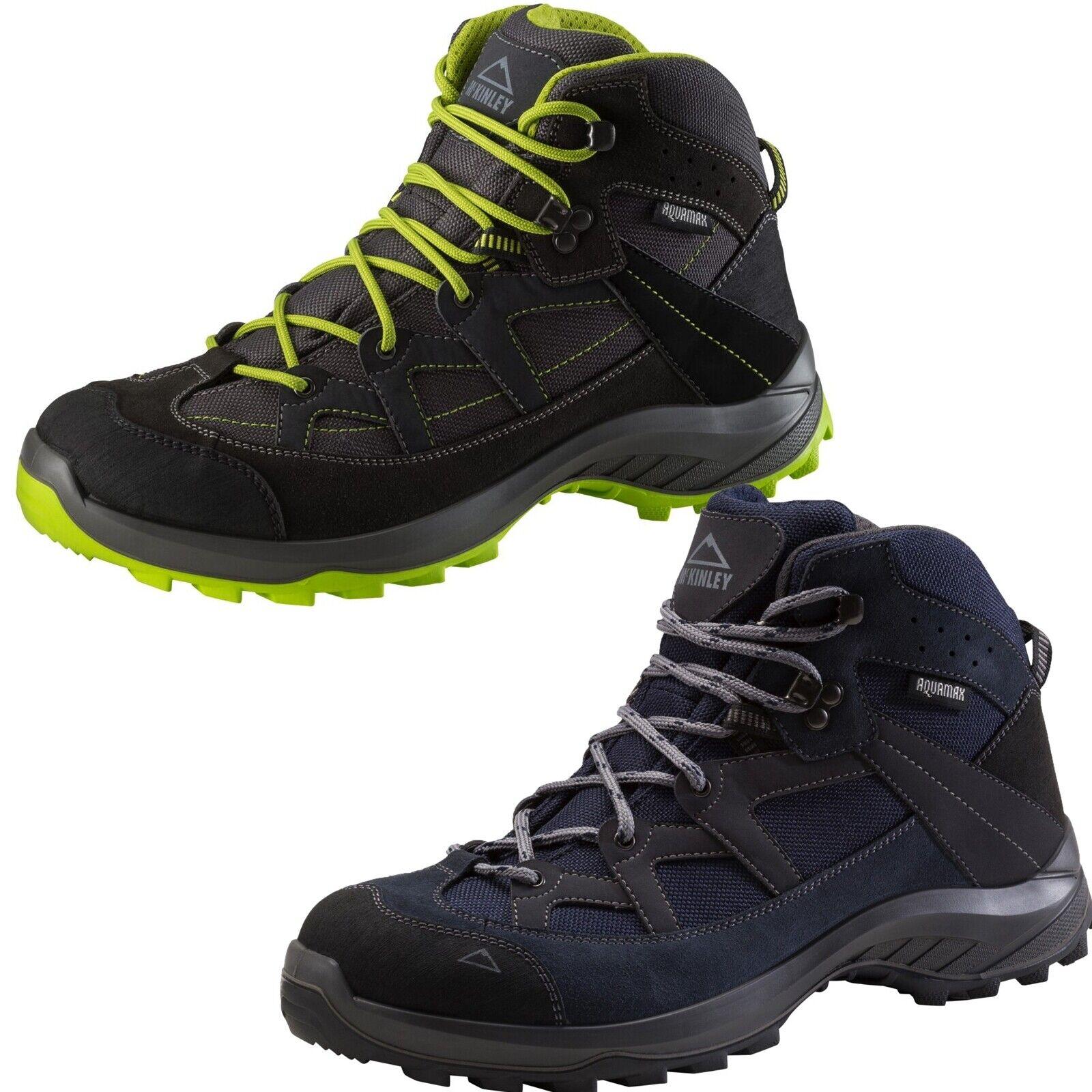McKinly Herren Outdoor Wander Trekking Schuhe Discover AQUAMAX AQX Stiefel 245936