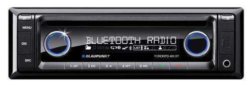 1 von 1 - Blaupunkt Toronto 420 BT CD MP3 USB Front AUX IN Autoradio Tuner Bluetooth