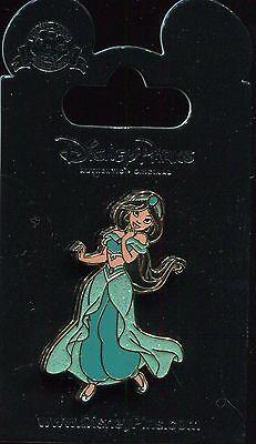 Sparkle Glitter Dress Princess Jasmine From Aladdin Disney Pin 121004