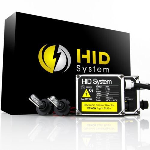 HID System Metal HID Conversion Kit H4 H7 H11 H13 9003 9006 6K 5K HiLo Bi-Xenon