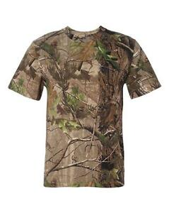 Real tree Camouflage AP or APG Hunting Camo Tee Shirt SM To 2XL 3980 THE BEST
