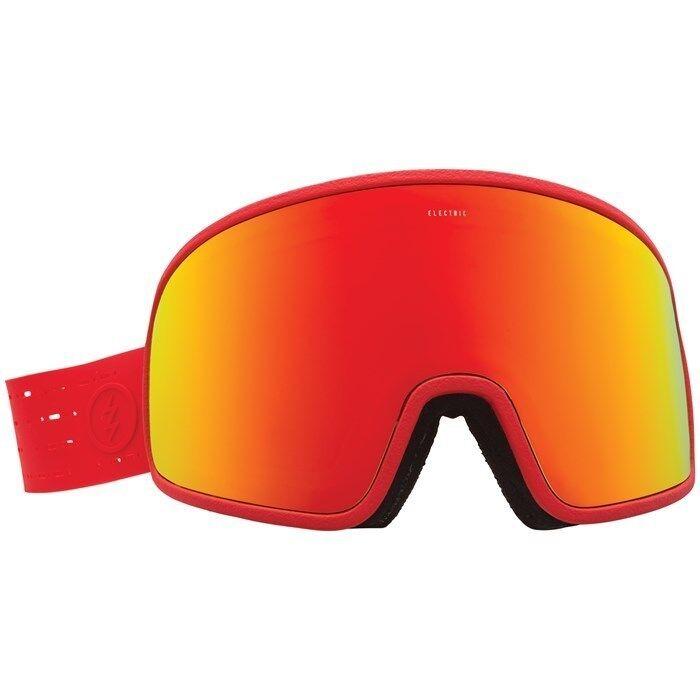 NEW Electric Electrolite Red Chrome Mirror Mens ski snowboard goggles Msrp