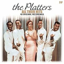 The Platters ALL THEIR HITS 180g Best GATEFOLD 40 Songs NEW Vinyl Passion 2 LP
