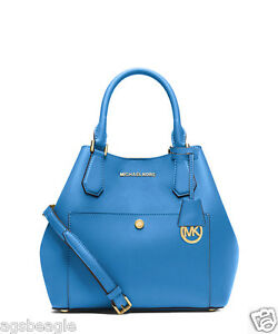 Michael-Kors-Bag-30S5GGRT7U-MK-Greenwich-Large-Saffiano-Leather-Blue-COD-Paypal
