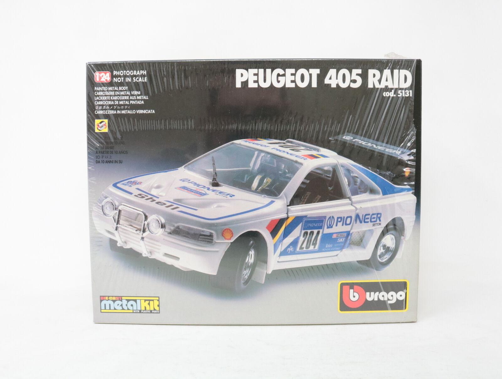 1 24 BBURAGO Metal Kit peugeot 405 RAID COD.531 [yp-008]