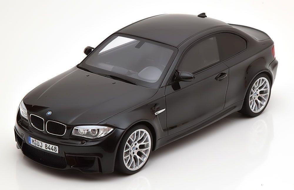 tienda GT Spirit 2011 BMW 1 M Coupe E82 E82 E82 Negro le 504 piezas 1 18New artículo   bienvenido a elegir
