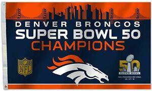 Denver-Broncos-Super-Bowl-50-Champions-flag-3x5ft-banner-US-Seller
