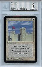 MTG Alpha Castle BGS 9.0 (9) Mint Card Magic The Gathering WOTC 7477