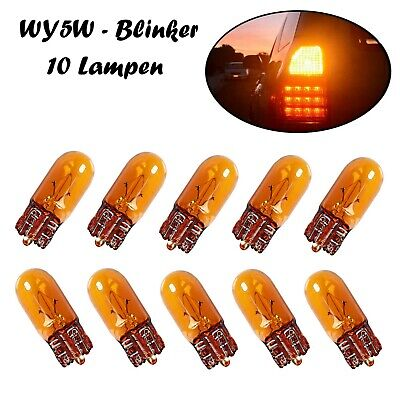10x W5W BLUE VISION T10 12V 5W W2,1x9,5d JURMANN/® LAMPEN FALTSCHACHTEL 10 ST/ÜCK